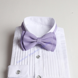 Bow ties for men and kids length adjustable bow ties wedding bow ties lilac bow ties for any occasion