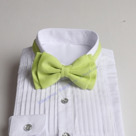 Bow ties for men and kids length adjustable bow ties wedding bow ties lime green ties for any occasion
