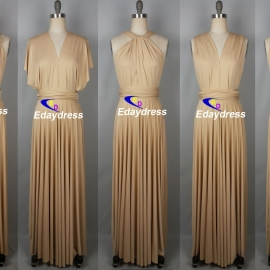 Maxi full length bridesmaid infinity dress convertible wrap dress multiway long dresses stone infinity dress