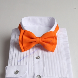 Bow ties for men and kids length adjustable bow ties wedding bow ties orange bow ties for any occasion