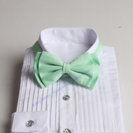 Bow ties for men and kids length adjustable bow ties wedding bow ties ice green ties for any occasion