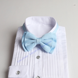 Bow ties for men and kids length adjustable bow ties wedding bow ties light sky blue bow ties for any occasion
