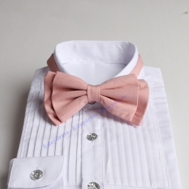 Bow ties for men and kids length adjustable bow ties wedding bow ties light rose pink bow ties for any occasion