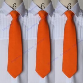 Men ties men ties with hanky option men ties for wedding party solid stone men ties orangen men ties