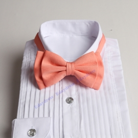 Bow ties for men and kids length adjustable bow ties wedding bow ties blush pink bow ties for any occasion