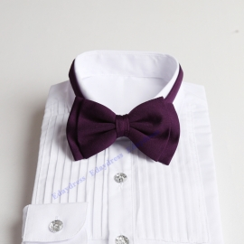 Bow ties for men and kids length adjustable bow ties wedding bow ties grape purple bow ties for any occasion