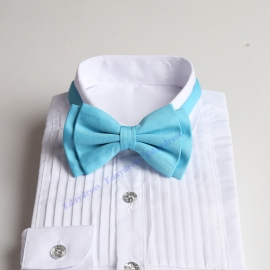Bow ties for men and kids length adjustable bow ties wedding bow ties turquoise bow ties for any occasion