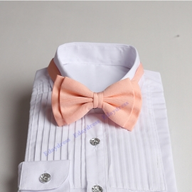 Bow ties for men and kids length adjustable bow ties wedding bow ties peach pink ties for any occasion