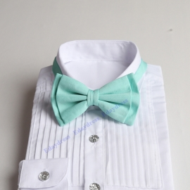Bow ties for men and kids length adjustable bow ties wedding bow ties ice green bow ties for any occasion