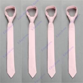 Men slim ties men slim ties with hanky option men slim ties for wedding party solid pink men slim ties men slim ties
