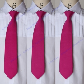 Men ties men ties with hanky option men ties for wedding party solid stone men ties fuschia men ties