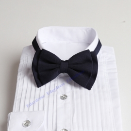 Bow ties for men and kids length adjustable bow ties wedding bow ties navy blue bow ties for any occasion