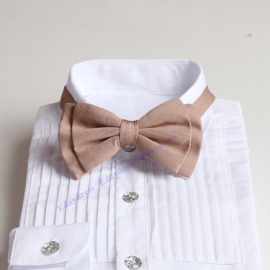Bow ties for men and kids length adjustable bow ties wedding bow ties nude pink bow ties for any occasion