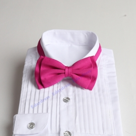 Bow ties for men and kids length adjustable bow ties wedding bow ties fuschia bow ties for any occasion