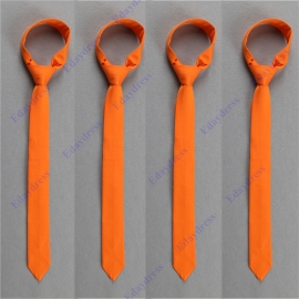 Men slim ties men slim ties with hanky option men slim ties for wedding party solid orange peel men slim ties men slim ties