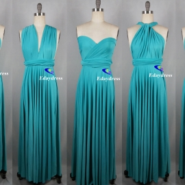 Maxi full length bridesmaid infinity dress convertible wrap dress multi way long dresses tiffani infinity dresses