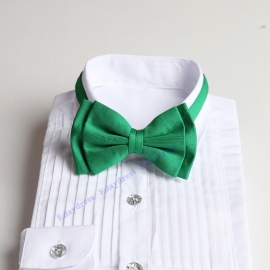 Bow ties for men and kids length adjustable bow ties wedding bow ties emerald green ties for any occasion