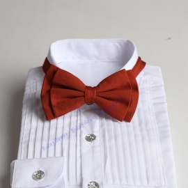 Bow ties for men and kids length adjustable bow ties wedding bow ties burn orange bow ties for any occasion