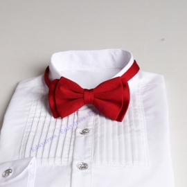 Bow ties for men and kids length adjustable bow ties wedding bow ties tomato red bow ties for any occasion