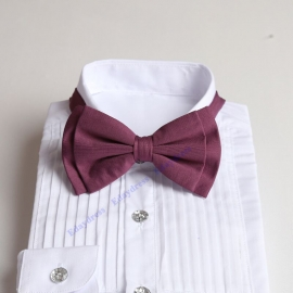 Bow ties for men and kids length adjustable bow ties wedding bow ties light bordeax bow ties for any occasion