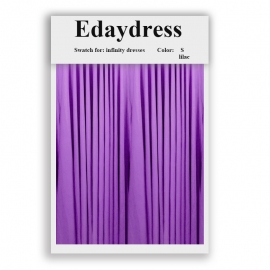 Fabric swatch for infinity dresses infinity bridesmaid dresses for ties and bows color s lilac