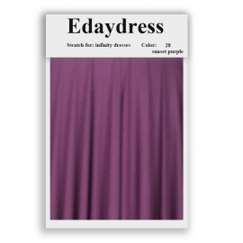 Fabric swatch for infinity dresses infinity bridesmaid dresses for ties and bows color 28 sunset purple